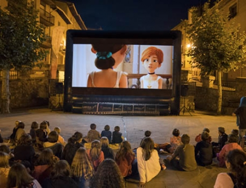 ZineAraba visita seis localidades alavesas con cine en euskera