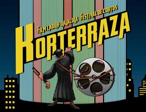 Boceto del cartel para el X Korterraza Gasteiz y nueva web