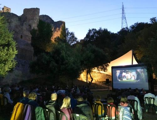 Cine al aire libre en Araba con total seguridad